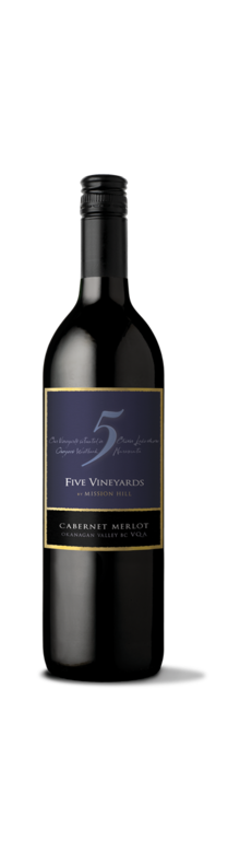 Five Vineyards Cabernet-Merlot 2016