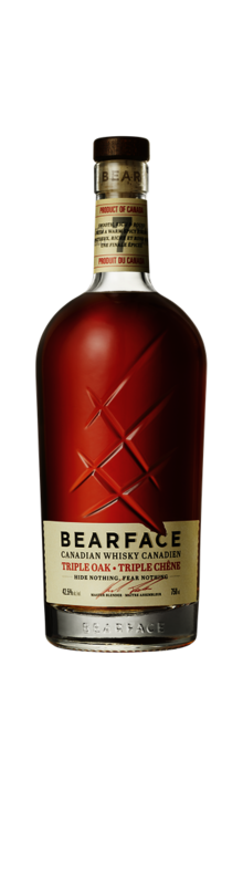 Bearface 7YO Triple Oak Canadian Whisky