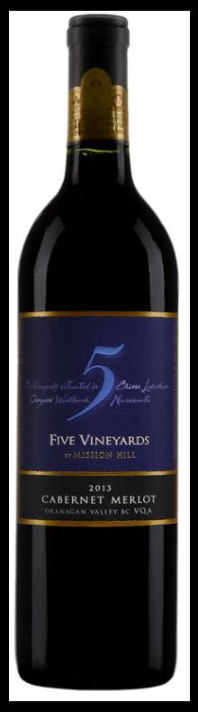 Five Vineyard Cabernet Merlot 2015